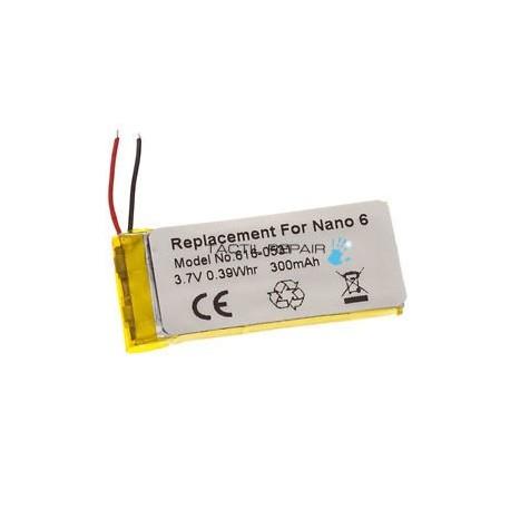 Bateria iPod Nano 6
