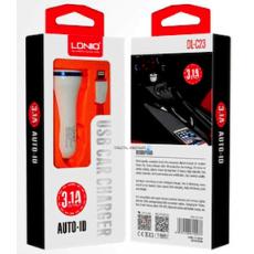 Cargador Coche USB Mechero LDNIO DL-C23