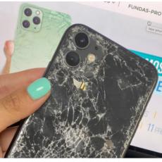 Cambio tapa trasera cristal iPhone 11