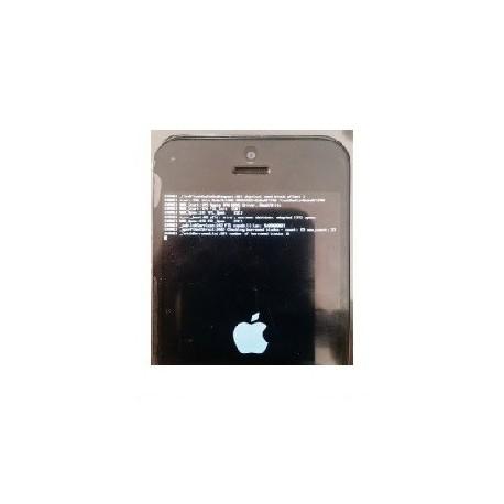 Reparacion letras blancas al encender iPhone 5