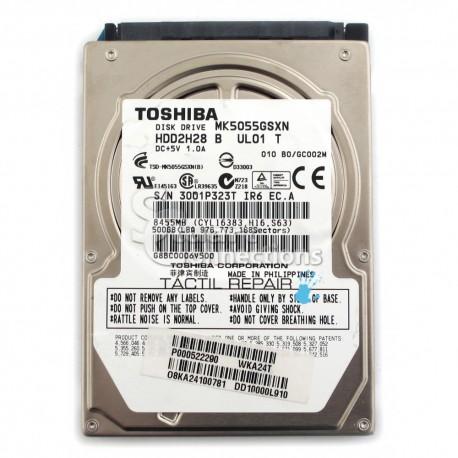 Instalación OS con Disco Duro TOSHIBA 2,5'' 500 GB